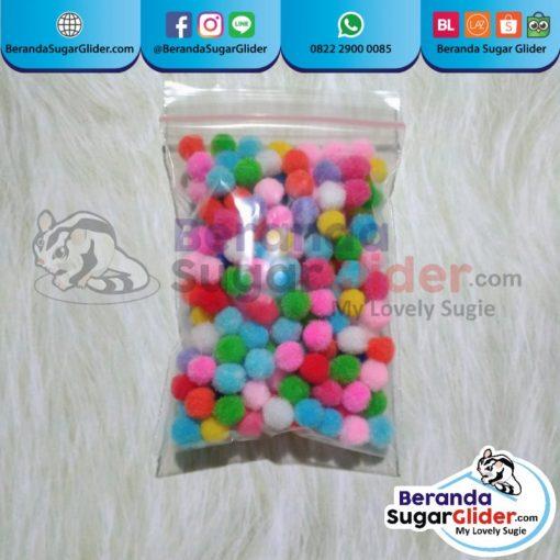 Mandi Bola Mainan Hewan Peliharaan Kecil Sugar Glider SG Bajing Kelapa Landak Mini Tupai Terbang Mamalia