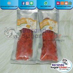 Mango Snack Makanan Hewan Peliharaan Kecil Sugar Glider SG Bajing Kelapa Hamster Landak Mini Tupai Terbang Mamalia