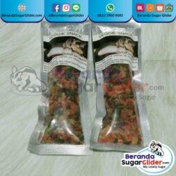 Veggie Snack Makanan Hewan Peliharaan Kecil Sugar Glider SG Bajing Kelapa Hamster Landak Mini Tupai Terbang Mamalia