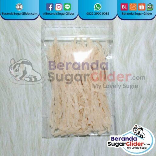 Fish Snack Makanan Hewan Peliharaan Kecil Sugar Glider SG Bajing Kelapa Hamster Landak Mini Tupai Terbang Mamalia