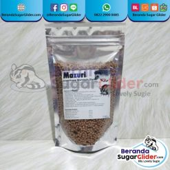 Mazuri Insectivore Mammals Diet Makanan Hewan Peliharaan Kecil Sugar Glider SG Bajing Kelapa Landak Mini Tupai Terbang Mamalia