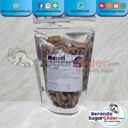 Mazuri New World Primate Biscuit Makanan Hewan Peliharaan Kecil Sugar Glider SG Bajing Kelapa Landak Mini Tupai Terbang Mamalia
