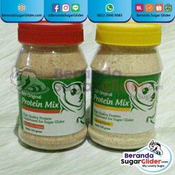 Protein Mix Beras Merah Dan Pisang Makanan Hewan Peliharaan Kecil Sugar Glider SG Bajing Kelapa Landak Mini Tupai Terbang Mamalia