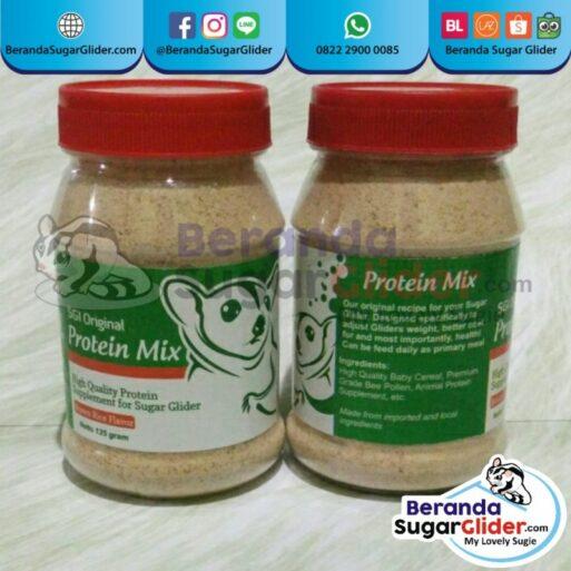 Protein Mix Beras Merah Makanan Hewan Peliharaan Kecil Sugar Glider SG Bajing Kelapa Landak Mini Tupai Terbang Mamalia