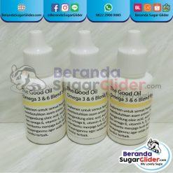 The Good Oil Makanan Hewan Peliharaan Kecil Sugar Glider SG Bajing Kelapa Landak Mini Tupai Terbang Mamalia